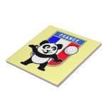 Panda del voleibol de Francia Tejas
