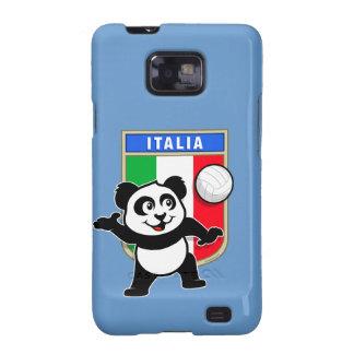 Panda del voleibol de Italia Galaxy SII Carcasas