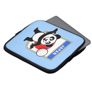Panda del voleibol de Japón Funda Ordendadores