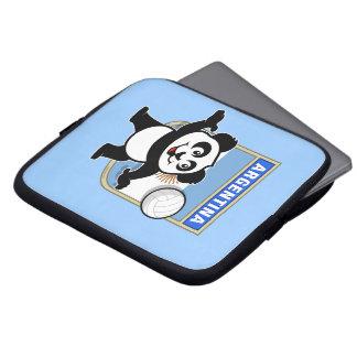 Panda del voleibol de la Argentina Funda Ordendadores