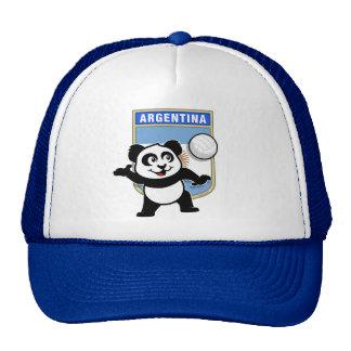 Panda del voleibol de la Argentina Gorros Bordados