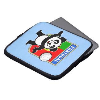 Panda del voleibol de Portugal Fundas Ordendadores