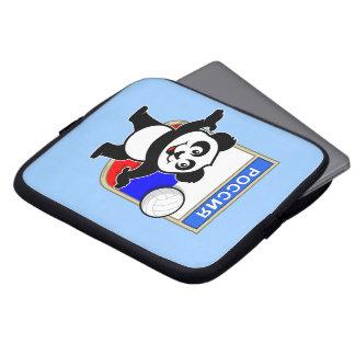 Panda del voleibol de Rusia Funda Computadora
