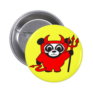 Panda - diablo - botón pins