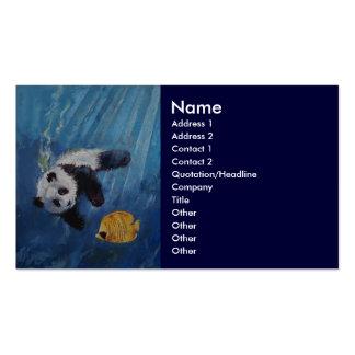 Panda Diver Business Card