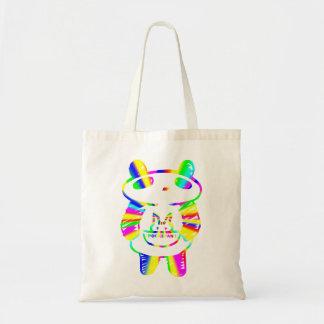 Panda divertida bolsa tela barata