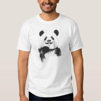Panda divertida playera