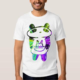 Panda divertida remeras