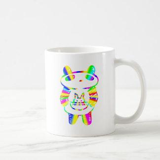 Panda divertida taza clásica