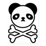 Panda do ku ro postcard