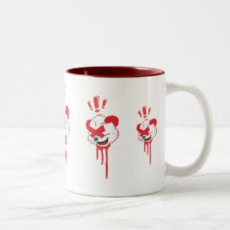 Panda Drips Two-Tone Coffee Mug