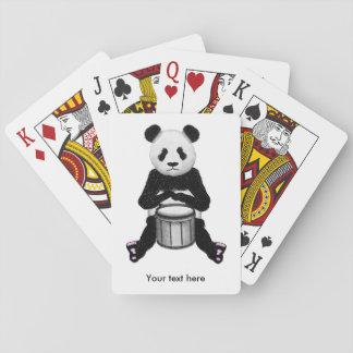 Panda Drumming Playing Cards