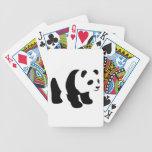 Panda dulce baraja cartas de poker