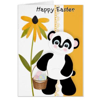 Panda Easter Wish Greeting Card