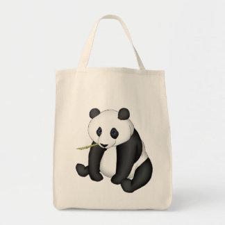 Panda Eating Bamboo Bag