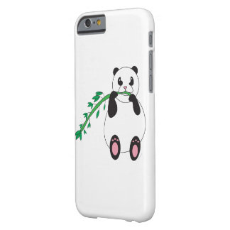Panda Eating Bamboo Barely There iPhone 6 Case