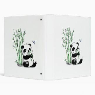 Panda Eating Bamboo Binder