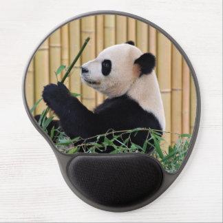 Panda Eating Bamboo Gel Mouse Mats