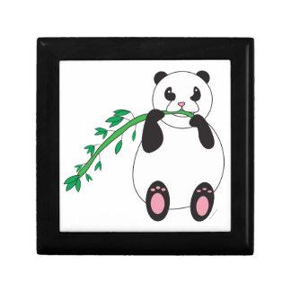 Panda Eating Bamboo Gift Box