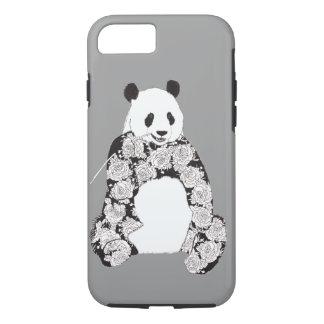 Panda Eating Bamboo Illustration iPhone 7 Case