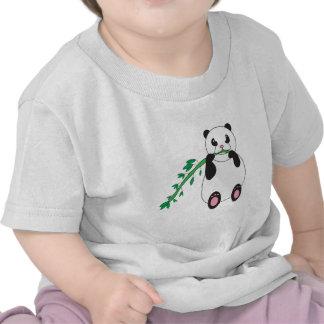 Panda Eating Bamboo Infant T-shirt