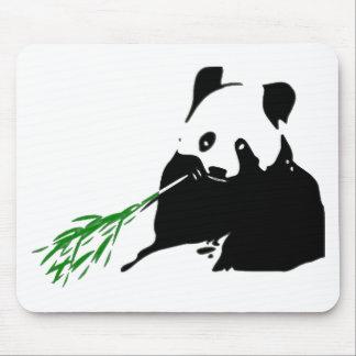 Panda Eating Bamboo Mouse Mats