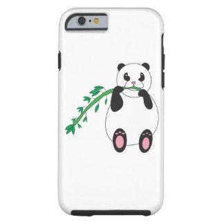 Panda Eating Bamboo Tough iPhone 6 Case