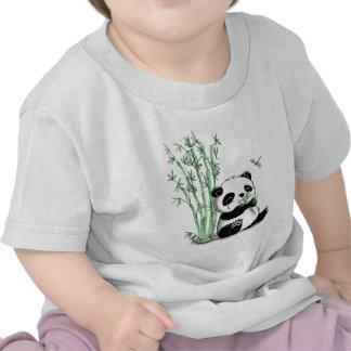 Panda Eating Bamboo Shirt