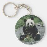Panda Eating Keychains