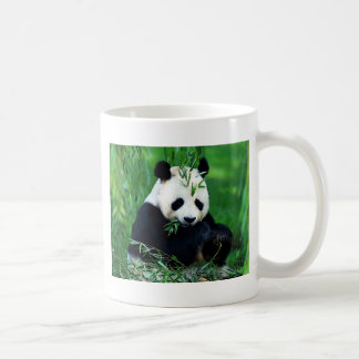 Panda Eating Leaves Coffee Mug
