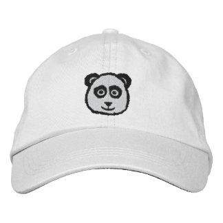 Panda Embroidered Hats