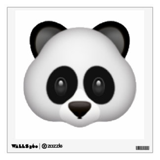 Panda - Emoji Wall Decal