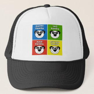 Panda Emotions Trucker Hat