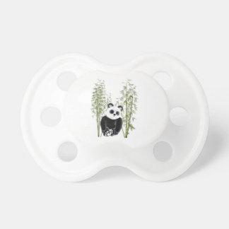 Panda en bambú chupete de bebe