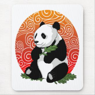 Panda en el horizonte tapete de raton