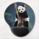 Panda en un árbol alfombrilla de ratón con gel