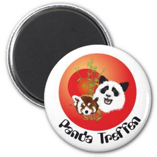 Panda encuentro imán