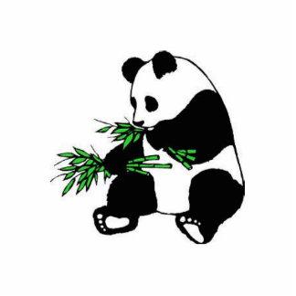 panda escultura fotografica