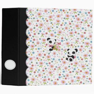 """Panda estimado 2"""" carpeta (blanca)"""