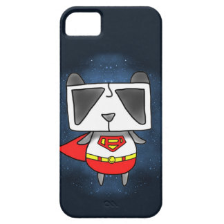 Panda estupenda funda para iPhone 5 barely there