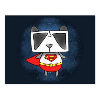 Panda estupenda tarjeta postal