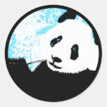 panda. etiqueta
