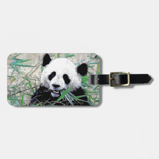Panda Etiqueta Para Equipaje