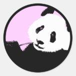 panda. etiquetas