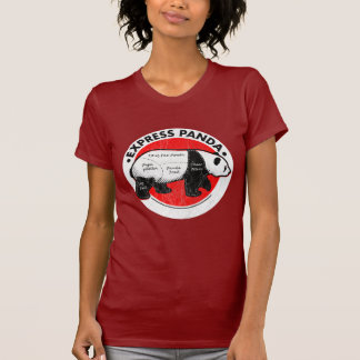 Panda expresa camisetas