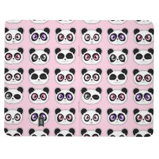 Panda Expressions Pink Journal