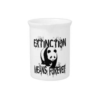 Panda Extinction1 Pitcher