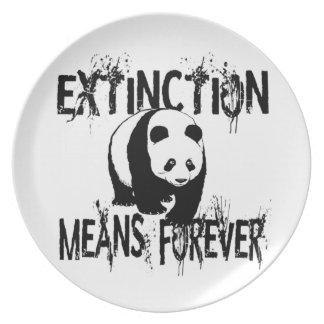 Panda Extinction1 Plate