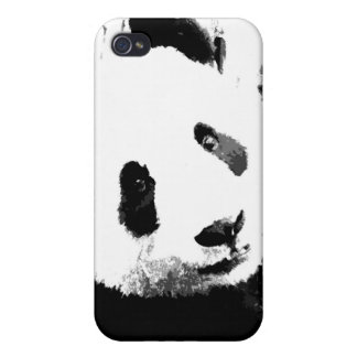 Panda Eyes iPhone 4 Cases