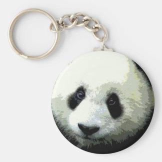 Panda Eyes Key Chains